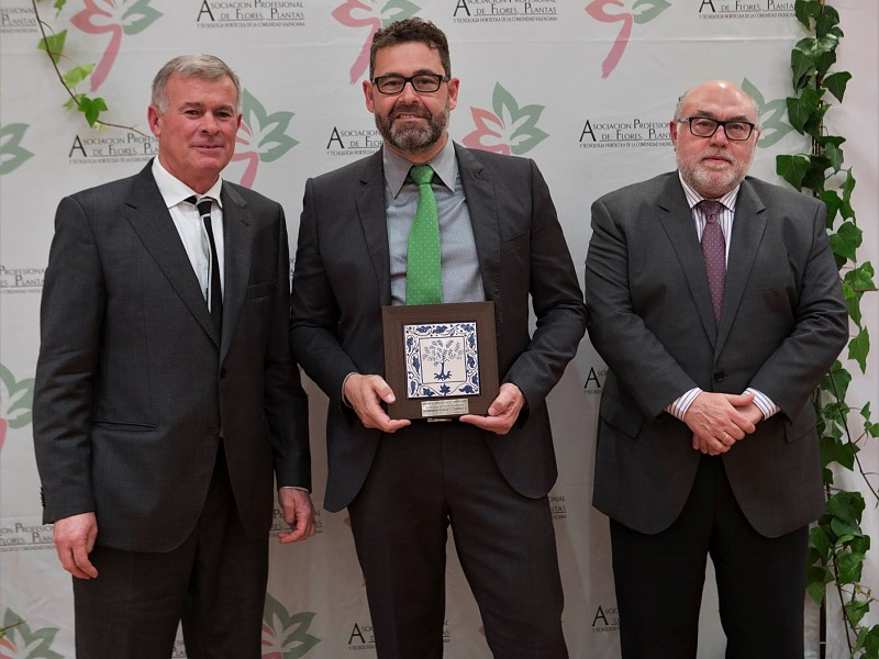 Premio ASFPLANT 2019 por 25 años de trayectoria.